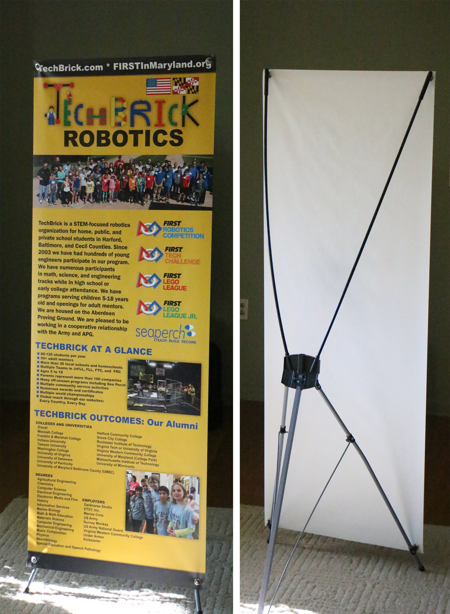Techbrick Robotics E Signs For Great Banners And Signs